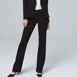WHBM | the slim boot black career pants